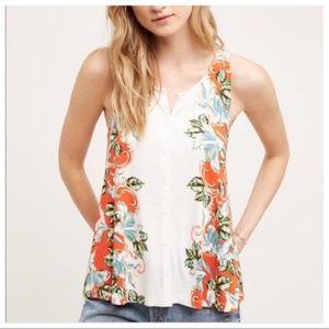 Akemi + Kin Gardenia Floral Sleeveless Top